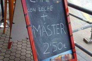 café más master