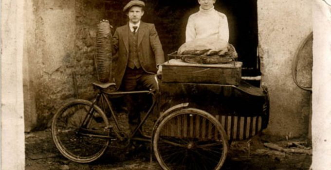 repartidor bicicleta